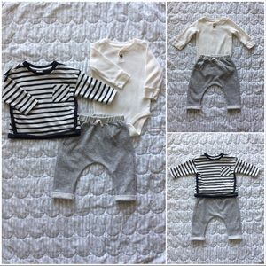 H&M + Jumping Beans | 3 pc baby boy bundle | 6-9m